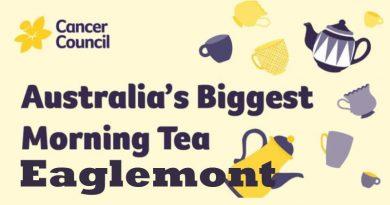 Australia's biggest morning tea at eaglemont