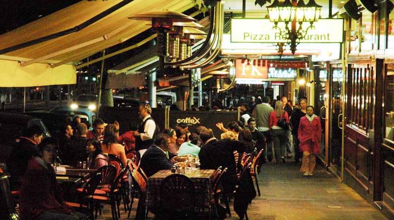 Carltons lygon street restaurant and cafe scene