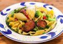 Chorizo & Broccoli Pasta