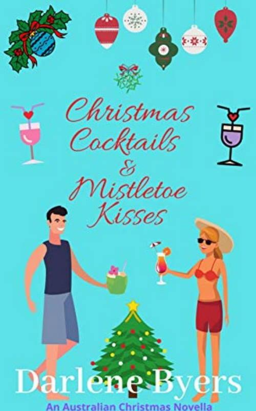 Christmas cocktails and mistletoe kisses