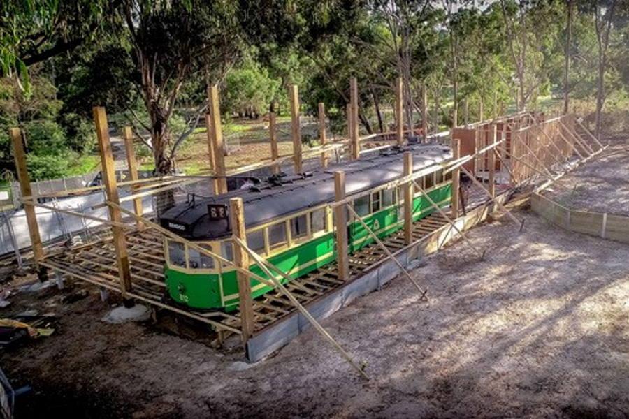 Diamond Creek Rotary Tram Cafe Project1