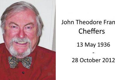John theodore Francis Cheffers