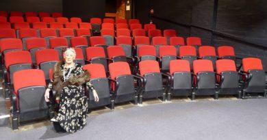 June sitting alone at Heidelberg Theatre Company