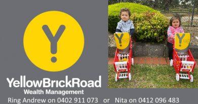 Nita Walsh Yellow brick road rosanna