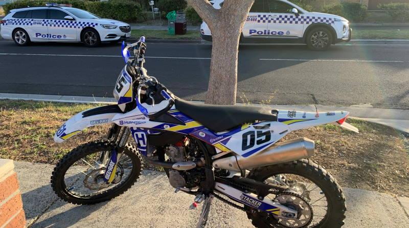 Police target illegal dirt bike riders in Craigieburn