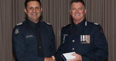 Victoria Police International Flavour