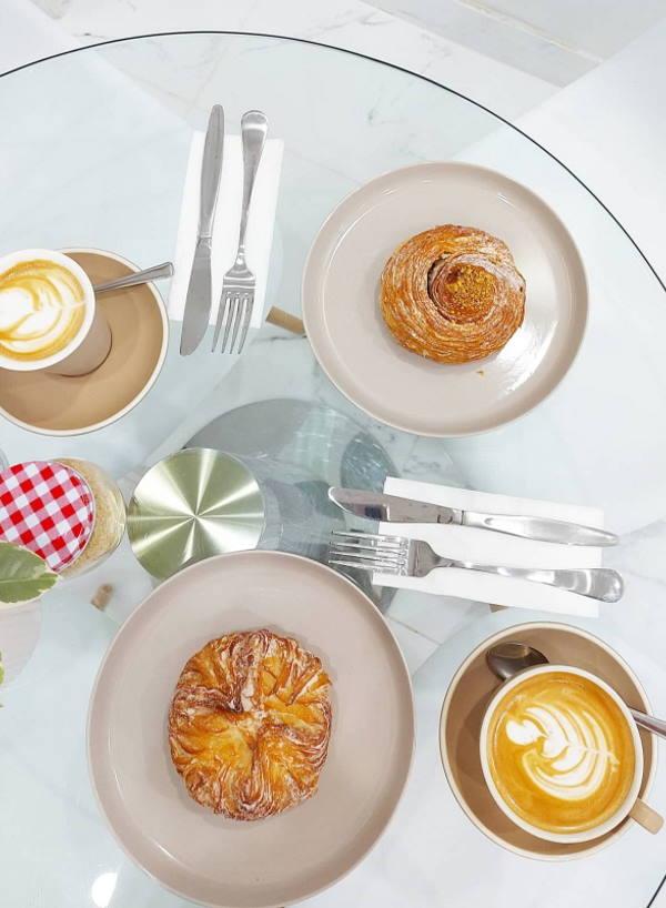 Pauline Faltado owner of little bliss cafe